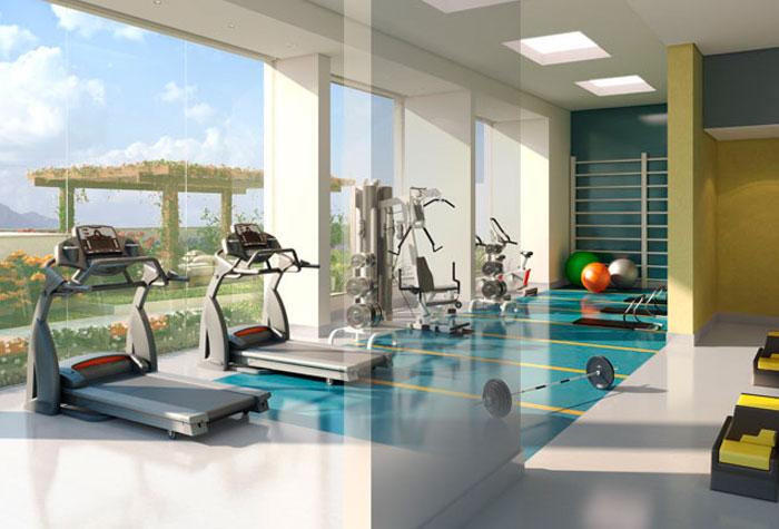 Nem sempre é fácil aproveitar a luz natural em academias por conta da disposição das salas. (Foto: Reprodução/MASB)