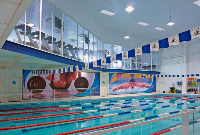 A área para prática de natação deve ser bem iluminada. (Foto: Reprodução/Drucker)